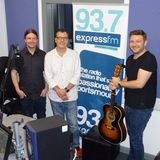 Russell Hill's Country Music Show on Express FM feat. Peter Donegan + Roland & Yapp. 20/08/17
