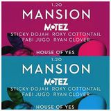 LIVE @ MANSION @ HOUSE OF YES, BROOKLYN, JAN 19TH, 2017