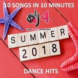 Canzoni Estate 2018 - Summer 2018 Dance Hits - 10 songs in 10 minutes