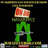 PunkrPrincess Whatever Show Live with Hamapple only on whatever68.com recorded live 4/9/20