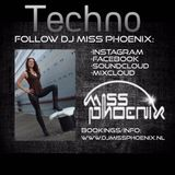 Episode 406 DJ Miss Phoenix 2016 Techno