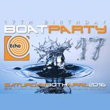 Echo 17th birthday boat party trance mix