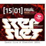 Sayko live @ Stepslet 2016 / Classic techstep vinyl set