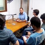 Roda de conversa com Rodrigo Freitas