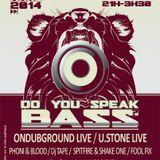 Fool Fix @ Do You Speak Bass? 21.03.2014 (Le Ferrailleur - Nantes)
