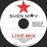 DJ SVEN MAY LIVE 11.01.2014 the Bandits Tuggen Teil1