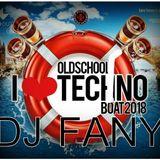 DJ FANY -I LOVE TECHNO BOAT 2018