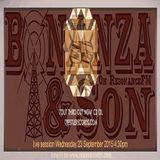 Bonanza & Son on ResonanceFM 23/09/15: Tout live session