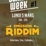 Emission Riddim 05 mars 2018 JAMAICAN WEEK