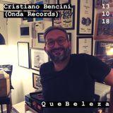 Q u e B e l e z a w/CRISTIANO BENCINI (Onda Records) @backfliprecordshop ONLY LOVE