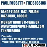 The Session with Paul Fossett 290817 on www.soulpower-radio.com