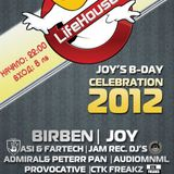 Dj Eryc vs. Lady Aglarana - Joy's BD party @ LifeHouse(14.09.2012)