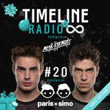 Merk & Kremont - Timeline Radio #20 (PARIS & SIMO GUESTMIX)