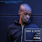 Deep House Soulful Chill Mix by JaBig - DEEP & DOPE 229