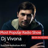 Dj Vivona - Sunclock Radioshow #012