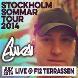 Live @ F12 Terrassen | Stockholm | July 2014