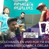 RIMAS REBELDES 26-8-17 con el DIVÁN ESTUDIO