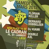 DJ Florian Keller @ SuperFly Party / March 2013 - Le Cadran