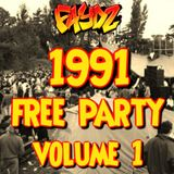 1991 Free Party Rave Mix (Volume 1)