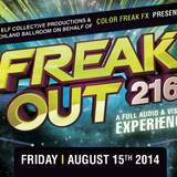 LordSwan3x Vs. Amuckone - Freak Out 216! @ The Beachland Ballroom 8/15/14