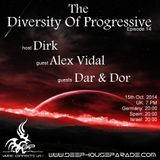 Dirk - Host Mix - The Diversity Of Progressive 14 (15th Oct 2014) on Deephouseparade.com