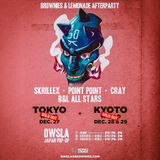 Skrillex - Brownies & Lemonade Afterparty (KYOTO) 28/12/2017
