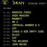 CEY @ Opening La Draft, Peniche Touta, Paris, 220613