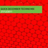 Moifs Quick December Techno Mix 271211