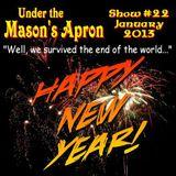 Under the Mason's Apron Folk Show #22 Jan 2013