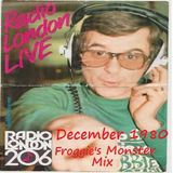 Robbie Vincent Show December 1980 with Froggie