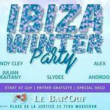 Ibiza Winter Party 22.12.2018 @ Bar'Ouf Mouscron By Julian Kaitany