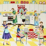 Pour faire cours #4 - The Feminine Mystique, les femmes au foyer dans les 50's