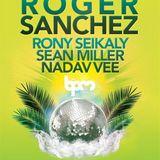 Roger Sanchez - Live @ BPM Festival, Kool Beach, Playa del Carmen, México (04.01.2014)