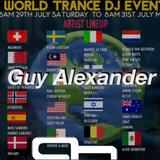 WORLD TRANCE DJ EVENT 2017 Guy Alexander