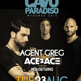 Agent Greg @ Cavo Paradiso (Mykonos) - 23 August 2016