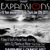"""10 Years of """"Expansions Sessions"""" Pt.1 of 4 Pt's"""