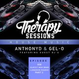 Therapy Sessions Episode  8 BNB London  Radio guest mix  (Part 2) Dj AnthonyD