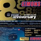 Live @ SIMONS 8th Anniversary 1998