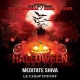 MEDITATE SHIVA Dj set @ Halloween Party 31/10/213 [Toulouse]
