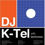 DJ K-Tel Live at NOIR2 in Victoria at Rehab
