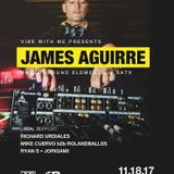 Ryan S - Vibe With Me Presents James Aguirre - Web House - San Antonio - 11.18.2017 -STUDIO-RECREATE