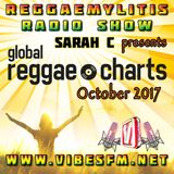 Reggaemylitis Radio Show ft Global Reggae Chart Countdown - October 2017