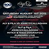 Aly & Fila vs. John O'Callaghan – Future Sound of Egypt 400 @ City National Civic, San Jose, USA