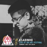 Asadinho - Live at UR ART Festival - Sunday July 20 2014