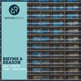 Rhyme & Reason 11th February 2018