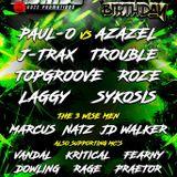 DJ Jim - Dioxide Studio Jam - August 2018 MCs Winstan B - Fearndogg - DK - Stokesy -