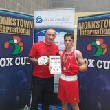 Rory Parkes Head Trainer for Athlone Boxing club talking about the Monkstown Cup
