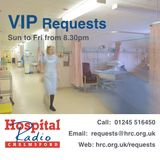 VIP Requests - Weds 1st April 2015