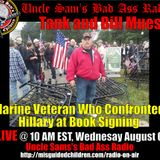 Interview with Bill Mues US Marine Veteran and his question to Hillary Clinton