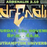 The X Men - Adrenalin, 13th November 1995